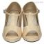 รองเท้าส้นสูงหุ้มส้น สไตล์วินเทจ (สีแอปปริคอท ) thumbnail 3