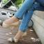 รองเท้าคัทชูส้นสูง หัวแหลม (สีแอปปริคอท ) thumbnail 5