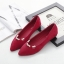 รองเท้าคัทชู หัวแหลม แต่งมุก (สีแดง) thumbnail 2