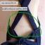 ผ้ากันเปื้อนผู้ใหญ่ ผ้ายีนส์สายไขว้หลัง (มีกระดุมปรับระดับ) thumbnail 2