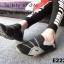 รองเท้าผ้าใบผู้หญิง สไตล์สปอร์ตเกิร์ล (สีดำ ) thumbnail 5