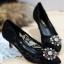 รองเท้าคัทชูส้นสูง DOLCE&GABBANA (สีดำา)