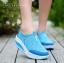รองเท้าผ้าใบเสริมส้น Sport Girl (สีฟ้า ) thumbnail 2