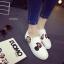 รองเท้าผ้าใบสไตล์ลำลอง ทรงสวม (สีขาว) thumbnail 6