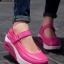 รองเท้าผ้าใบเสริมส้น สไตล์สปอร์ต (สีชมพู ) thumbnail 1