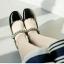 รองเท้าคัชชู หนังแก้วนิ่ม (สีดำ) thumbnail 3