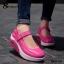 รองเท้าผ้าใบเสริมส้น สไตล์สปอร์ต (สีชมพู ) thumbnail 3