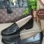 รองเท้าคัทชูสไตล์Loafer แบบสวม ทรงสุภาพ (สีดำ ) thumbnail 1