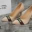 รองเท้าคัทชูส้นสูง หัวแหลม (สีแอปปริคอท ) thumbnail 4
