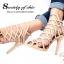 รองเท้าส้นสูง สไตล์Schuts (สีครีม) thumbnail 4