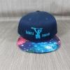 หมวก KBtheos สีกรมปีกลาย Galaxy ฟรีไซส์ Snapback