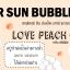 Peach After sun Bubble bath powder thumbnail 2