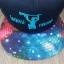 หมวก KBtheos สีกรมปีกลาย Galaxy ฟรีไซส์ Snapback thumbnail 2