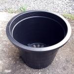 กระถางพลาสติกดำ ขนาด 12 นิ้ว จำนวน 10ใบ