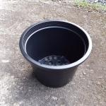 กระถางพลาสติกดำ ขนาด 10 นิ้ว จำนวน 10ใบ