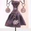 Abocos Dress Jewelry Hanging ตุ๊กตาแขวนเครื่องประดับ ชุดราตรี thumbnail 3