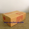 กล่องไปรษณีย์ฝาชนน้ำตาล No.B (ข) (17x25x9 cm.)