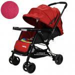 [แดง] รถเข็นเด็ก Seebaby รุ่น T11 (New Version)