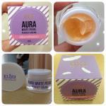 Aura white pearl perfect cream ครีมทารักเเร้ขาว เเบรนด์ อิลิเซ่