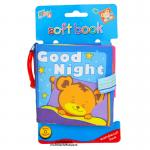 [Good Night] หนังสือผ้า สำหรับเด็กเล็ก ขนาดพกพา