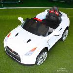 000055 -- รถแบตเตอรี่เด็ก NISSAN GT-R ลิขสิทธิ์แท้