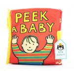 หนังสือผ้า Peek a Baby