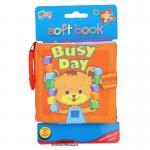 [Busy Day] หนังสือผ้า สำหรับเด็กเล็ก ขนาดพกพา