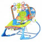 [สีฟ้า] เปลโยกระบบสั่น Ibaby Infant-to-Toddler Rocker
