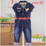 [Size80] BabyCityชุดยีนส์ผ้ายืดเกาหลี