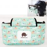[สุนัข] กระเป๋าติดรถเข็น 5 ช่อง Multi Stroller Organizer