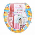 [เป็ด] ฝารองนั่งชักโครกหุ้มเบาะนิ่ม Farlin Soft baby potty seat