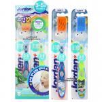 [แพคคู่][ลายเด็กผู้ชาย] [Step2] Jordan แปรงสีฟันสำหรับเด็ก 3-5 ปี