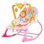 [สีชมพู] เปลโยกระบบสั่น Ibaby Infant-to-Toddler Rocker