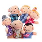0685 -- หุ่นสวมนิ้ว ชุดครอบครัว