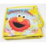 0637-- หนังสือผ้า Where's Elmo