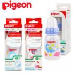 [แพคเดี่ยว] [120ml/4oz] Pigeon ขวดนมพร้อมจุกเสมือนนมมารดา RPP