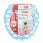 [ก้อนเมฆ] ฝารองนั่งชักโครกหุ้มเบาะนิ่ม Farlin Soft baby potty seat