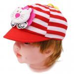 [แดง] หมวกแก๊ปเด็กลายสิงโต