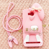 เคสมือถือ Huawei Y3ii ซิลิโคนกระต่าย 3d [Pre-Order]