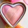 Makeup Revolution Blushing Hearts Triple Baked Blusher # Bursting with Love
