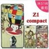 เคส Sony Xperia Z1 Compact - เคสแข็ง Cartoon 2D [Pre-Order]