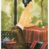 """ภาพศิลปะล้านนารูปแม่ญิงล้านนา""""รหัสสินค้า A - 67"""