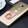 เคสมือถือ Huawei G7 Plus- เคสแข็งชุบสีโลหะ (พรีออเดอร์)