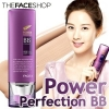 The Face Shop Powder Perfection BB Cream SPF 37 PA++ (40g) #V201 Appricot Beige สำหรับผิวขาว