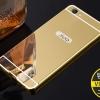 เคส Vivo V5, V5s, V5Lite - เคสขอบโลหะ ฝาหลังกระจกเงาสไลด์[Pre-Order]