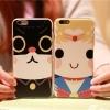 iPhone 6+ Plus- เคสลายการ์ตูน ขอบใส [Pre-Order]