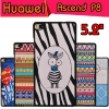 "เคสHuawei Ascend P8 5.2"" - Cartoon hard Case#1 [Pre-Order]"