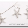 ชุดเครื่องประดับแฟชั่น รูปปลาดาว ( Fashion Jewelry Set in star fish design )