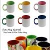 [MUG-IN-CL01] 11oz Inner & Rim Color Mug