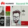 Huawei Axcend P6 - Cartoon Hard Case [Pre-Order]